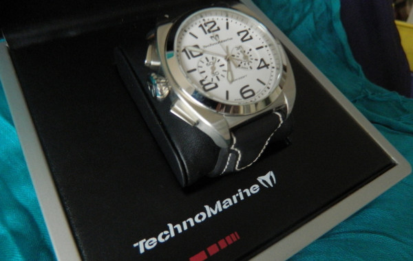 TechnoMarine US Navy Chronograph 100M/330Ft Men's Watch
