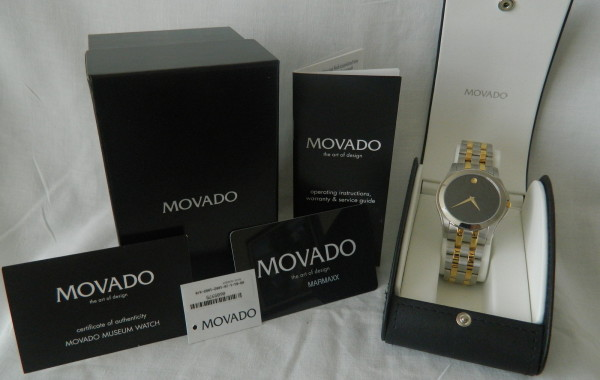 Movado Museum Design Watch
