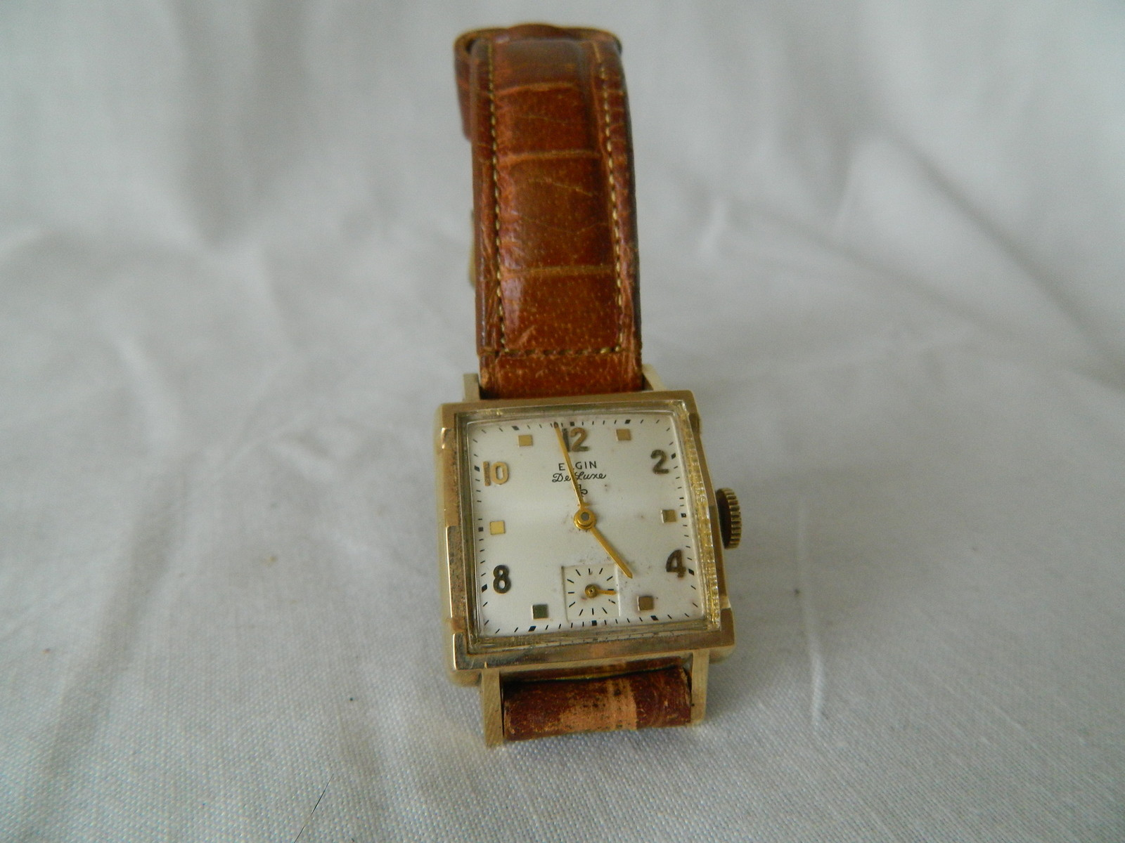 vintage elgin deluxe 10k gold filled men s watch clocktiques vintage elgin deluxe 10k gold filled men s watch