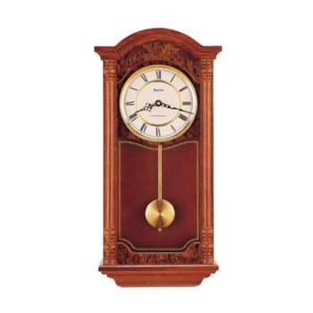 Bulova C4331 Antique Style Chiming Wall Clock