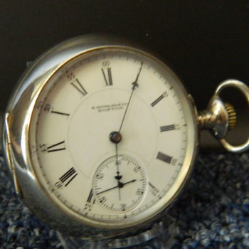 E. HOWARD POCKET WATCH